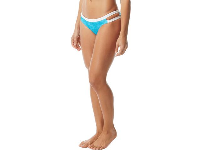 TYR Sandblasted Cove Slip bikini Donna, turchese/bianco